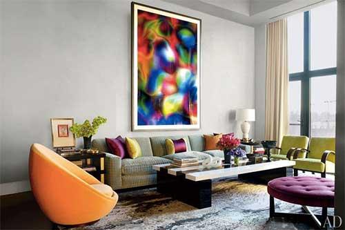 絵がメインの部屋でも、絵だけでなく「絵のある部屋」として撮ることが大事