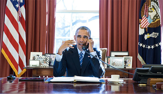 photo by Pete Souza